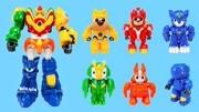 大号警车联盟二号机变形机器人玩具