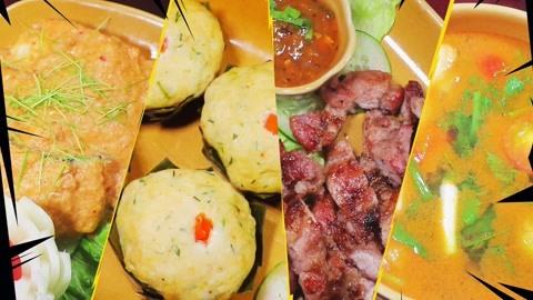 国宴菜单有猫腻,蒸鱼秒变甜点?鱼肉做成的蛋糕味道惊艳!老挝7